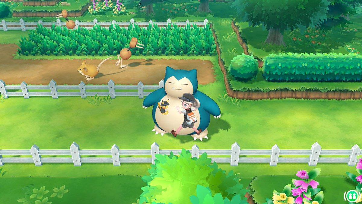 カビゴンライドこうなるのwwwwwwwwww #ピカブイ #NintendoSwitch