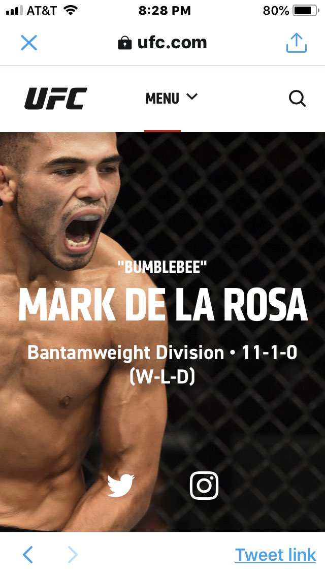The new @ufc website is pretty legit. Check it out! Who wants next?! 135 Or 125.