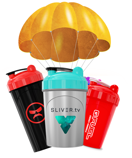 🚨 @GFuelEnergy Starter Kit AIRDROP INCOMING! 🚨 Learn more about SLIVER airdrops here: community.sliver.tv/airdrops/ You have a chance to win the brand new #SLIVERtv GFUEL Shaker!! Keep checking your inventories between 3-3:30PM PST TODAY sliver.tv/account/invent…
