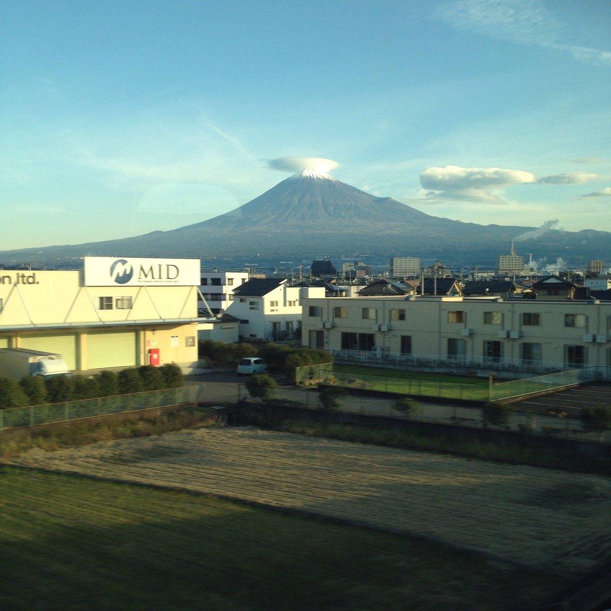 東海道新幹線 富士山
