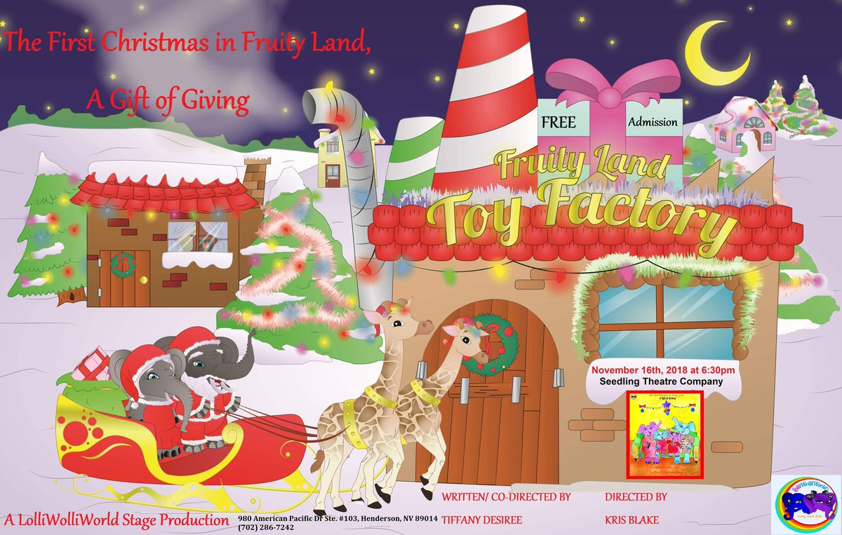 fa87422ac04b The play starts at 6 30pm. Free Admission.  LolliWolliWorldProduction   FirstChristmas2018  INFJAuthor pic.twitter.com vdxDCkAfxz