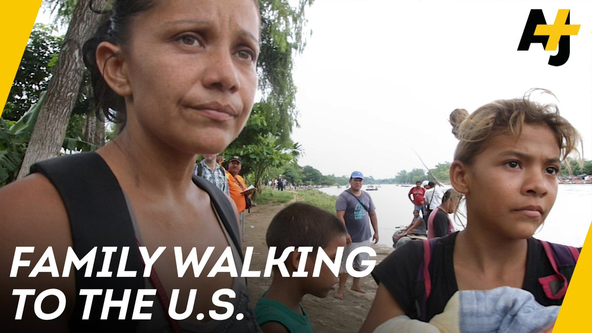 RT @ajplus: This mother is trying to save her children from violence by walking from Honduras to the United States. https://t.co/UmG590yeNU