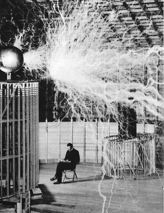 Sharing Nikola Tesla in his Laboratory  Like and Share   #Tesla  #nikolatesla #lab #ElectricVehicle  #ccznews @TeslaTheMovie @EVehicular  @CDNelectricity #power @ccxnews @BTCNewsletter