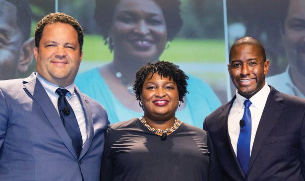 It has been an incredible honor to compete in this historic gubernatorial cycle with @staceyabrams and @BenJealous! Onward!!!