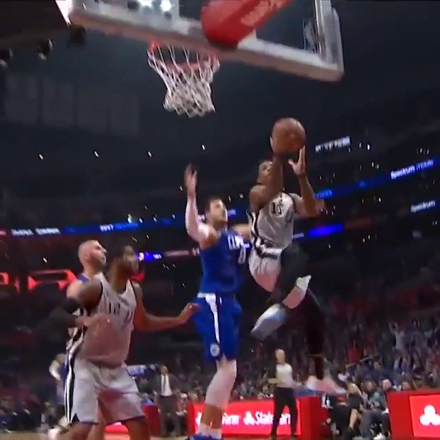 DeMar DeRozan went full spin-cycle on the lay-up for Thursday Night's #KiaTopPlay! #GoSpursGo  http://dlvr.it/QrT3NX
