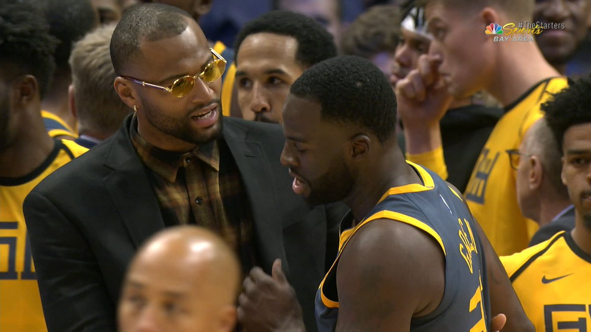 Is it a possibility the Warriors will look to deal @Money23Green, an integral part of their team? #TheStarters discuss.