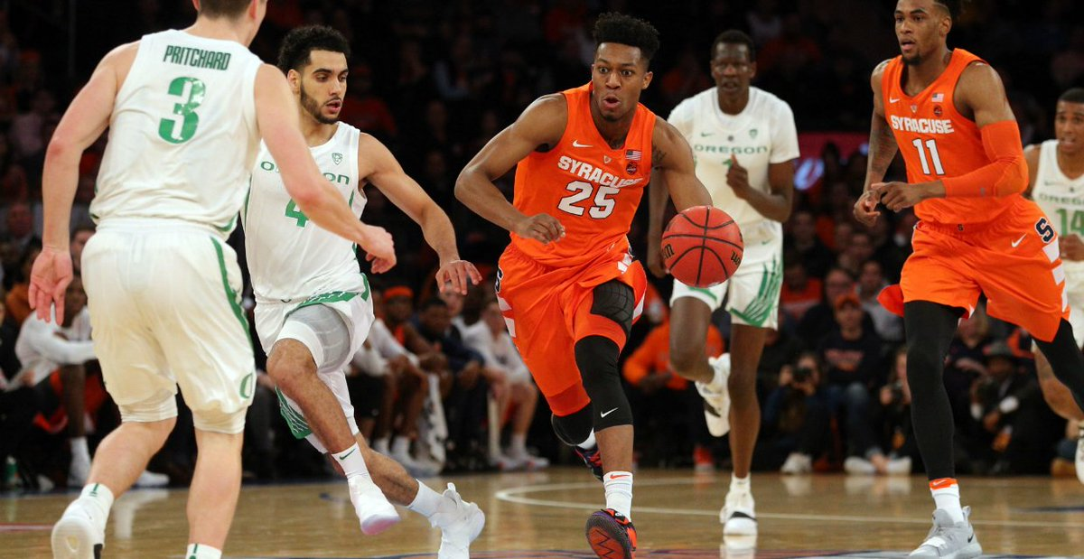 Syracuse suffers first loss at hands of UConn; faces #13 Oregon today at 4:30 pm (full coverage)