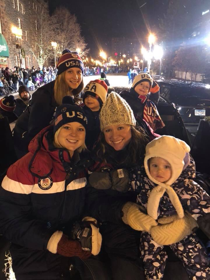 @TeamShuster @Shoostie2010 @tgeorge1323 @joepolo1 @jlandsteiner And the rest of the crew! #christmascityparade