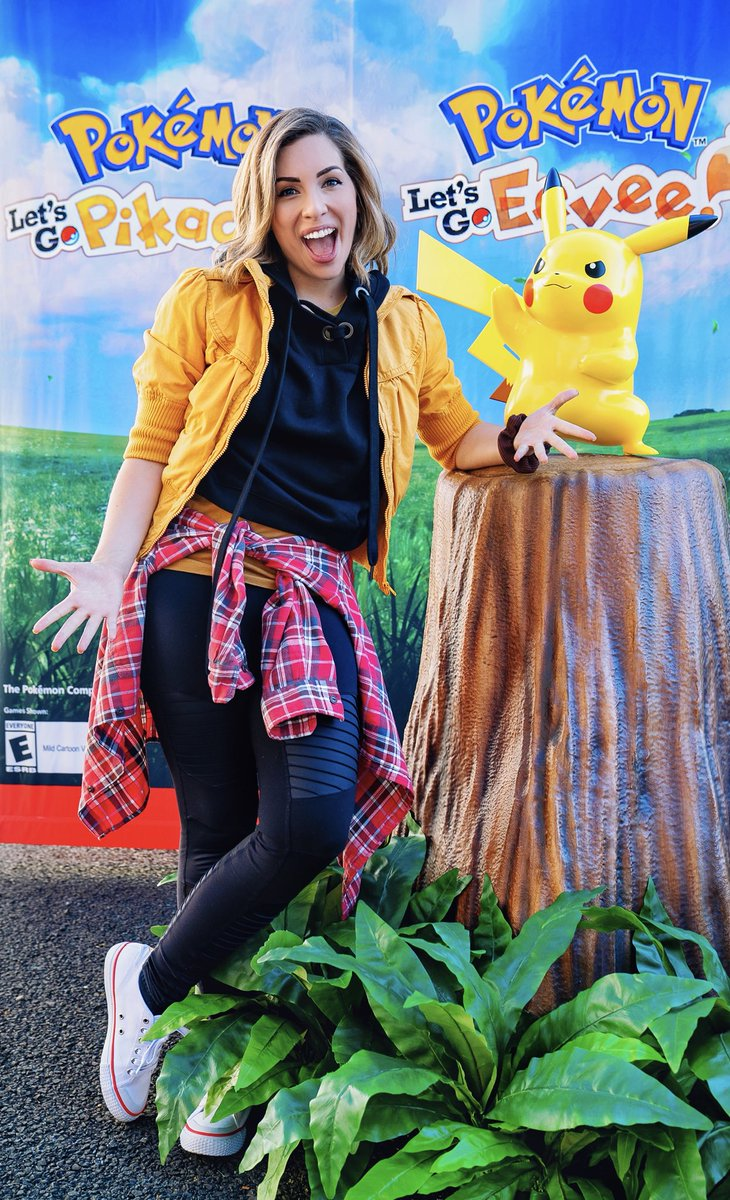 HAPPY POKÉMON DAY! Are you #TeamPikachu or #TeamEevee? I think it's clear where I stand on the matter ⚡️😌⚡️