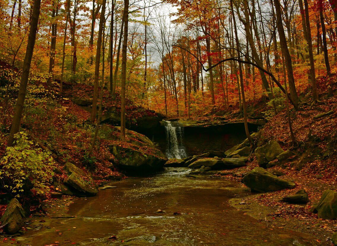 Another autumn passing by, another reminder of the beauty of Cuyahoga Valley National Park. Pic by Tim Green #Ohio