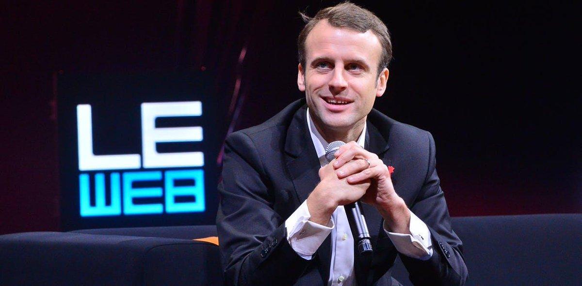 Appel de Paris : Emmanuel Macron appelle àcréer plus deconfiance etdesécurité surInternet https://t.co/rt3VOJsXga