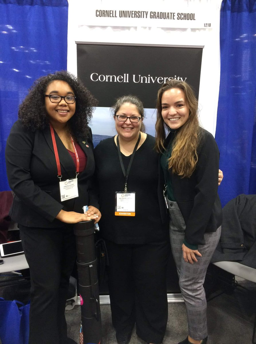 It was great to reconnect with @alexkmolina23 and @CornellOISE, from my @Cornell_DPW family at #ABRCMS!