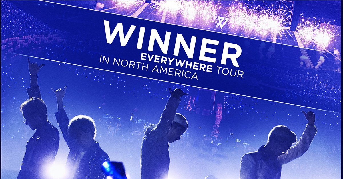 JUST ANNOUNCED: WINNER is bringing their WINNER EVERYWHERE TOUR to the Hulu Theater at MSG on January 29! Tickets go on sale Monday, November 19 at 10am. #위너 #WINNER #EVERYWHERETOUR #YG