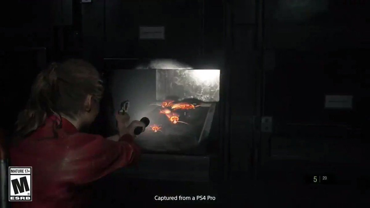 Lickers, zombies, and cockroaches. Tune into YouTube.com/PlayStation tomorrow at 10 AM PT to watch 10+ minutes of new Resident Evil 2 gameplay.