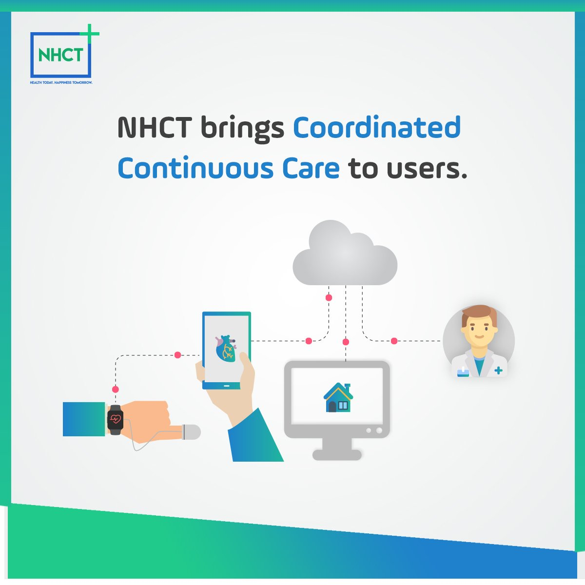 The current traditional healthcare systems do not provide long term management for lifestyle diseases. With NHCT, we are building a proactive and continuous care management system.   #tokensale #AI #Blockchain #NHCT #blockchaintechnology<br>http://pic.twitter.com/aVMnx0GTjb