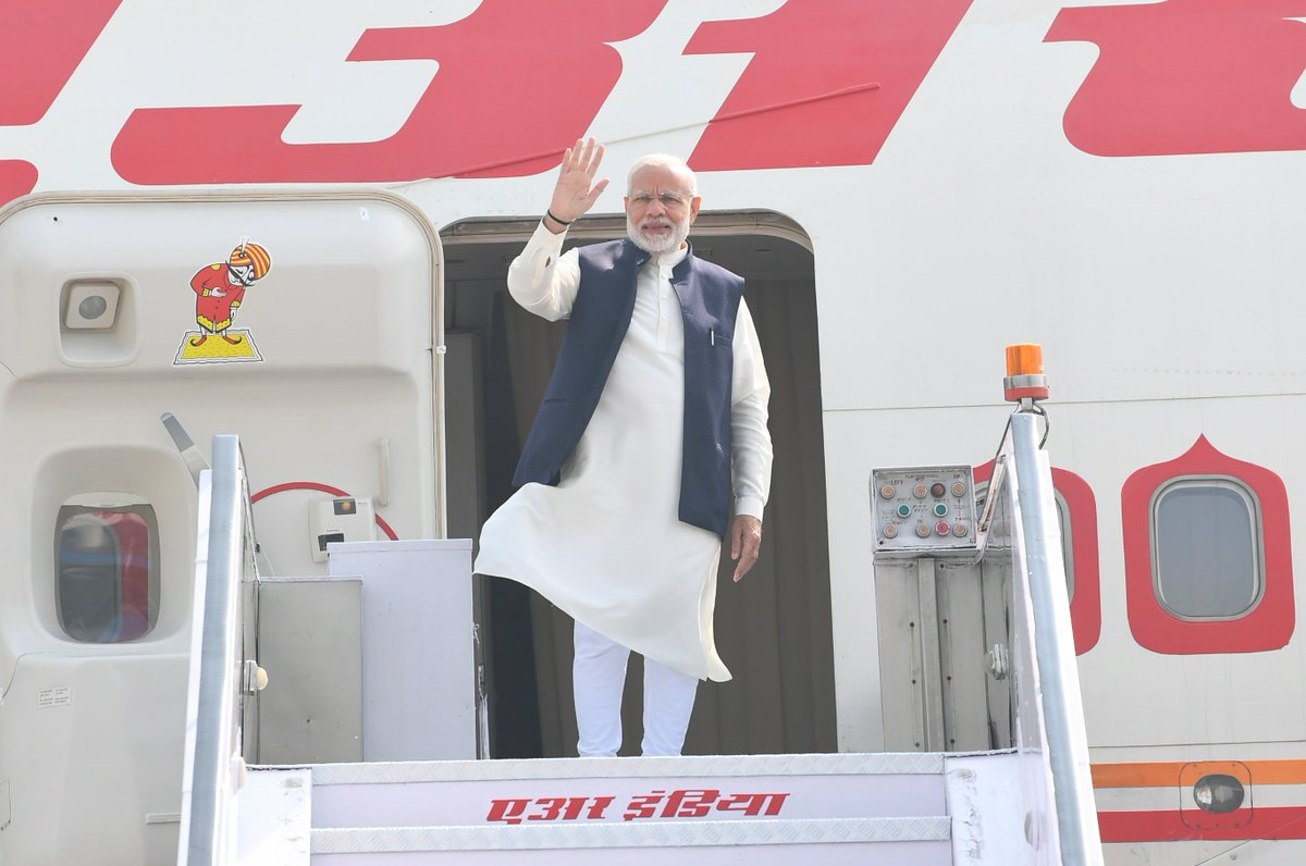 PM @narendramodi leaves for The Maldives, where he will attend the historic Inauguration Ceremony of the H.E. Ibrahim Mohamed Solih.