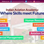 Image for the Tweet beginning: Indian Aviation Academy has been