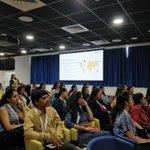 Image for the Tweet beginning: Leadership workshop underway by the