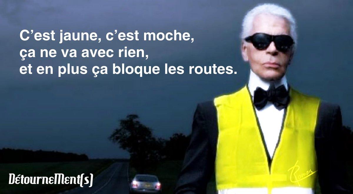RT @laurent_roman: Fashion week-end.  #GiletsJaunes #17novembre #Blocages #France #Belgique https://t.co/z2JroFm6lS