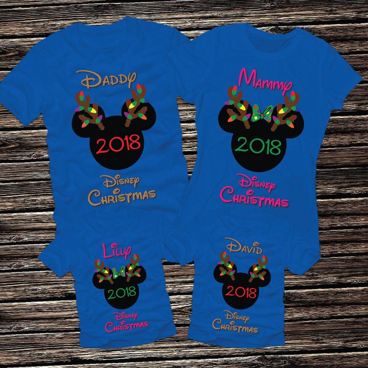 737cdca13839b ... Disney Christmas Reindeer Holiday Family Matching Minnie Mickey Mouse  World Vacation Land Raglan Tee T-Shirt Infant Girls Boys Womens Mens ...