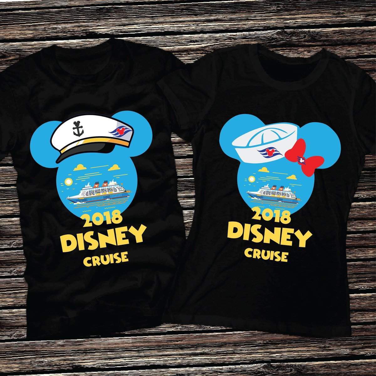 ad456093d ... Disney Cruise Shirts 2018~Cruise Mickey and Minnie Shirts 2018~Disney  Couple Cruise Shirts 2018~Disney Matching Shirts For Disney Cruise ...