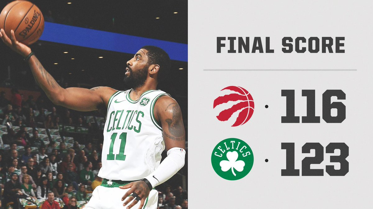 Kyrie dropped 23 in the 4th/OT 👏