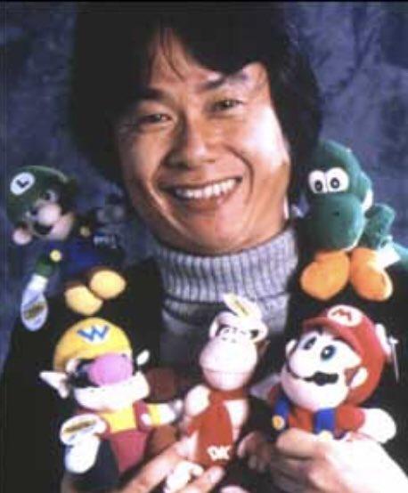 Happy birthday shigeru miyamoto!