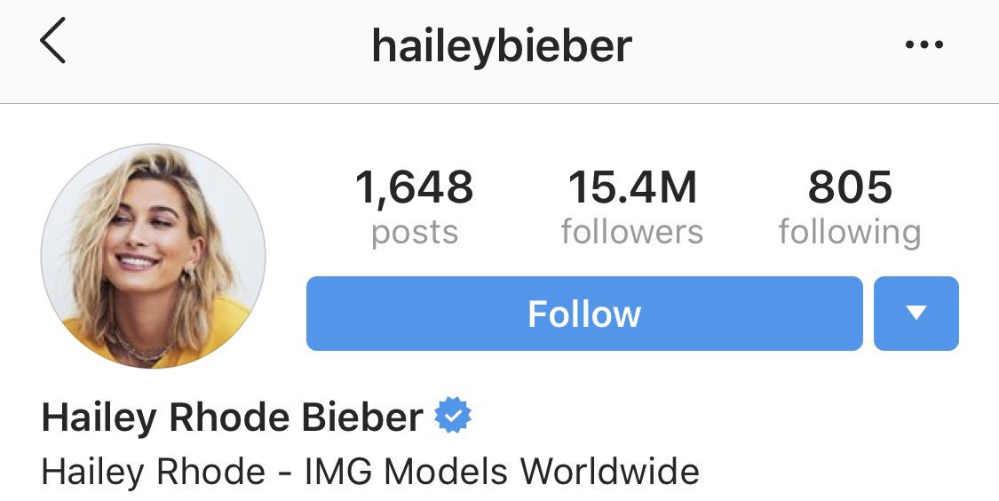 That's Mrs. Bieber to you.