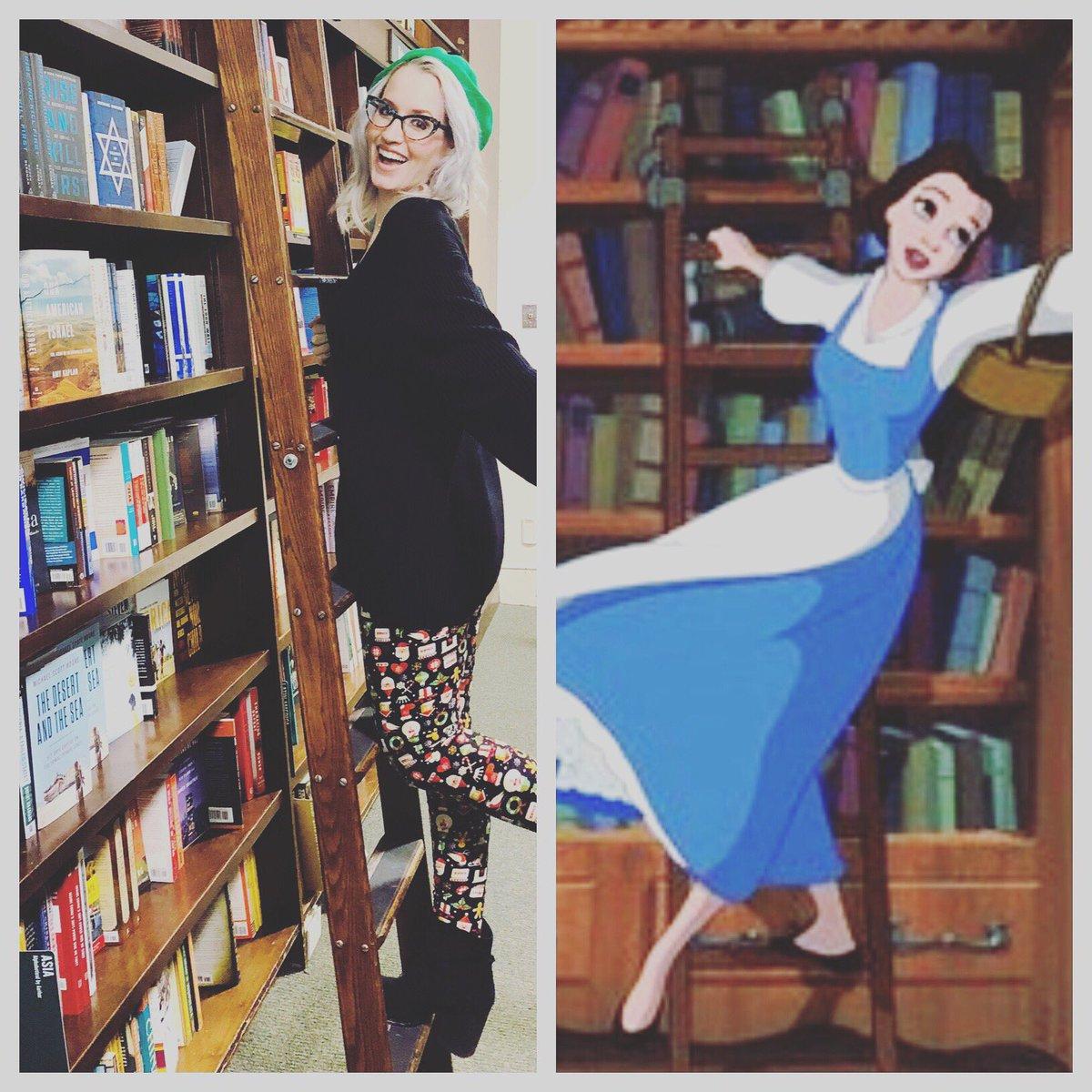 Ingrid Michaelson On Twitter When I See A Ladder And Bookshelf Gotta Do My Best Belle