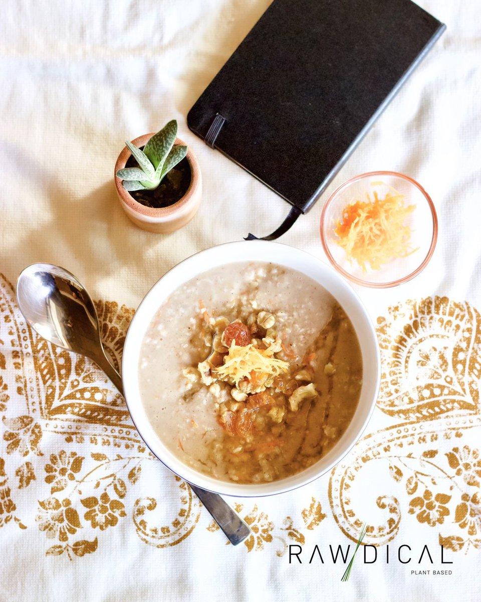 Ser Vegano On Twitter Porridge De Avena Y Zanahoria Receta