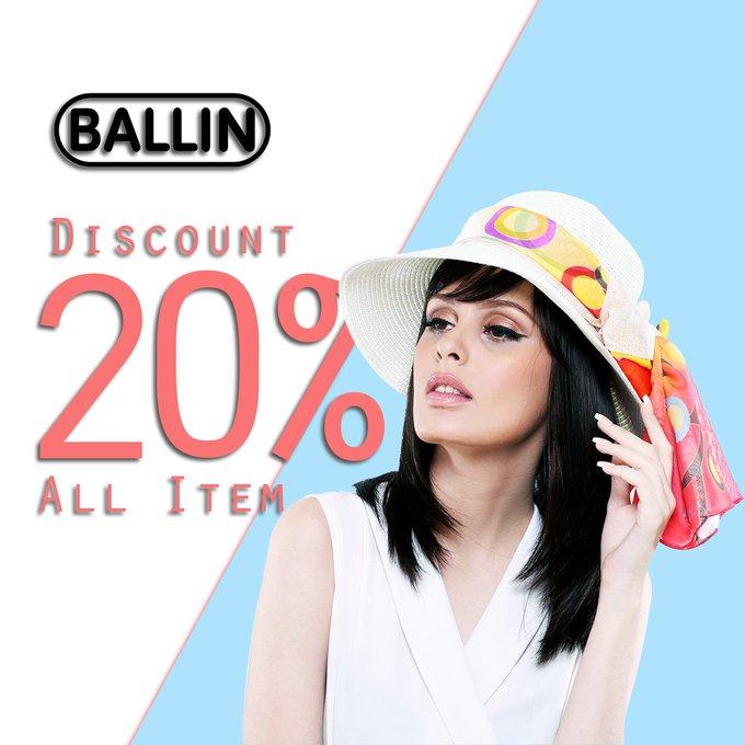 Disc all item 20% di @ZaloraID dapatkan koleksi terbaik dari @ballin_id #WeekendDeal Photo