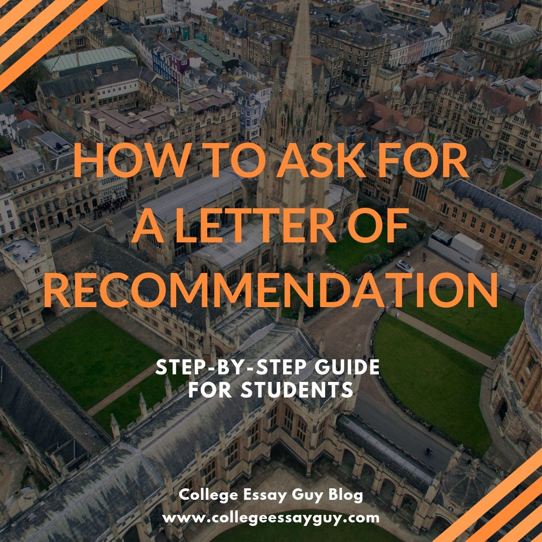 Cue the Hallelujah chorus. The letter of recommendation is the one part of the application that students don't have to write. But wait! Before you crank up Pharrell Williams, know this: You still have to know how to ask for a letter of recommendation. goo.gl/vVy8JD