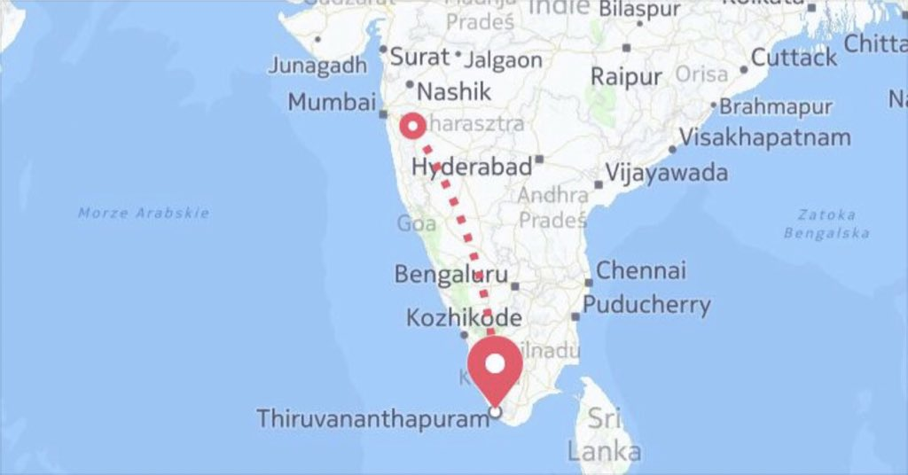 On the way to #Trivandrum ✈️🇮🇳✈️🇮🇳✈️ #India #asia #tour https://t.co/OTloqY6CND