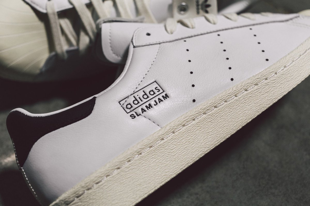 3b064cab8a0a6 The Adidas Consortium x Superstar 80s   Slam Jam P.O.D. S3.1 are available  now online at http   BAITme.com . Slam Jam choose these silhouettes to  represent ...