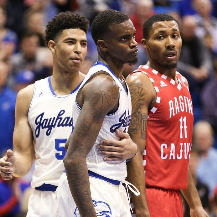 LaGerald Vick's last 2 games:  65 points (23-32 FG) (15-20 3's)<br>http://pic.twitter.com/MSEjnwqWWD