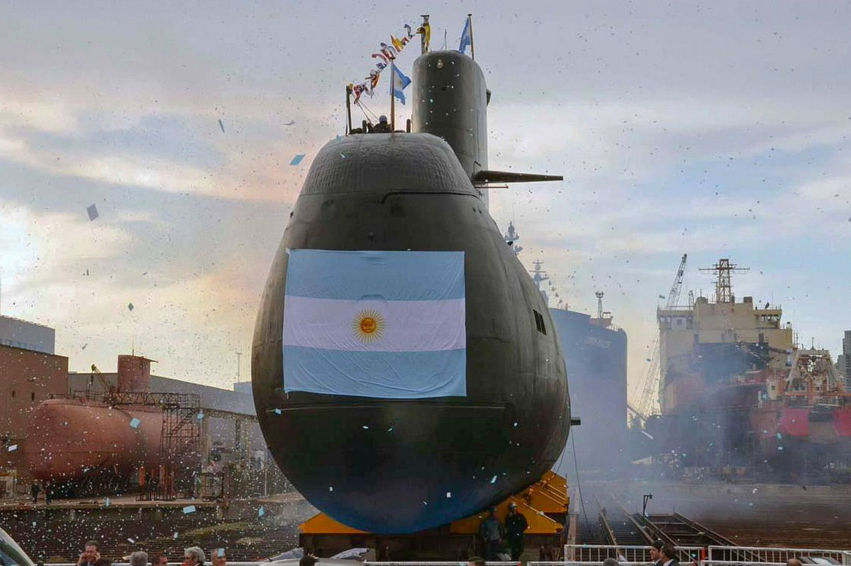 Argentina's ARA San Juan submarine, which went missing with 44 crew on board a year ago, has been located deep in the Atlantic, an official said