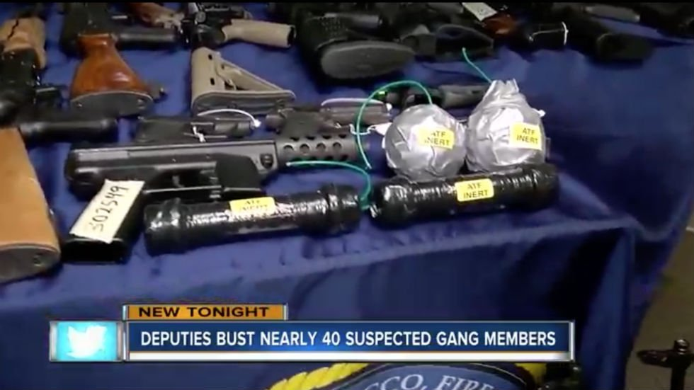 Authorities find rocket launcher and pipe bombs during raid on Florida white supremacist gangs https://t.co/y54bTrobAo