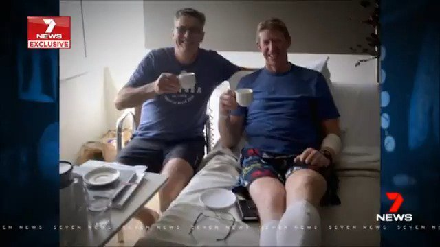 Two mates have shared their story ahead of @DonateLifeToday Thank You Day which honours those who have given others life-saving gifts. @EstelleGriepink #7News