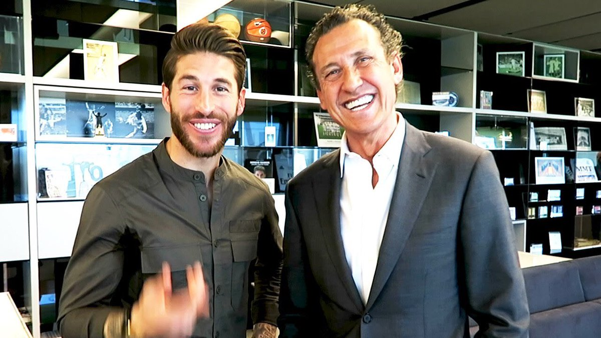 """SB on Twitter: """"Jorge Valdano: """"Sergio Ramos enters the locker-room as if  Real Madrid belonged to him and enters the pitch as if he invented  football. He goes on and challenges the"""