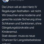 Image for the Tweet beginning: Rin in die Kartoffeln, raus