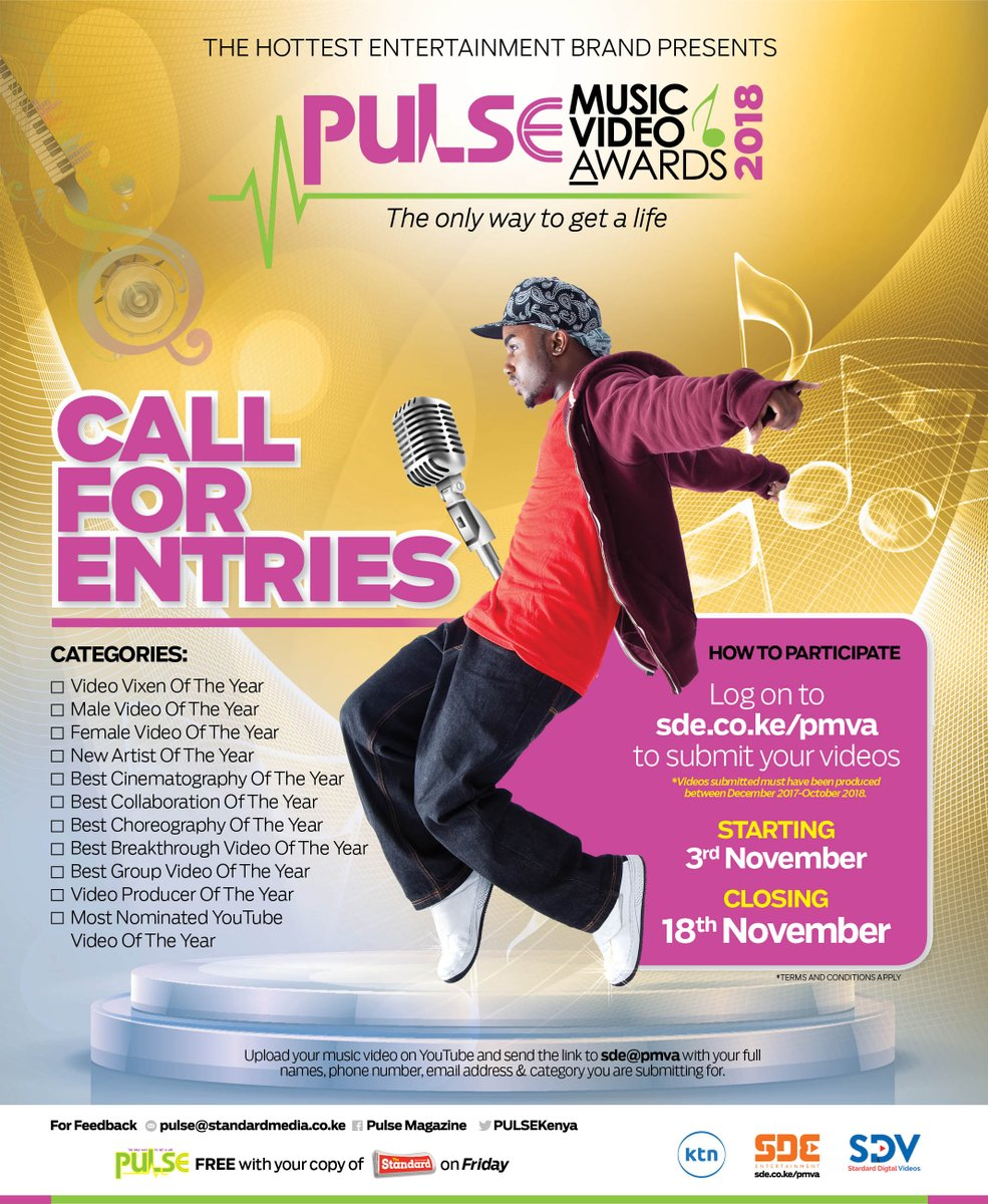 The deadline for submissions is getting closer, send in your entries now to https://t.co/qUTtHBLdp2  If your video has the best choreography don't let this chance go.  #PMVA2018