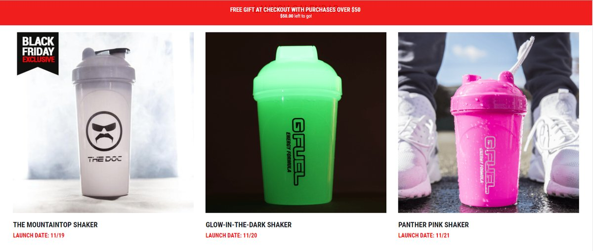 🗓SHAKER LAUNCH CALENDAR UPDATE🗓 In the market for some new AND old #GFUEL Shakers? Welp, why not take a look at our Launch Calendar to get the inside scoop on our upcoming releases! Discover More Here: gfuel.ly/2Tm11TP 👈😎
