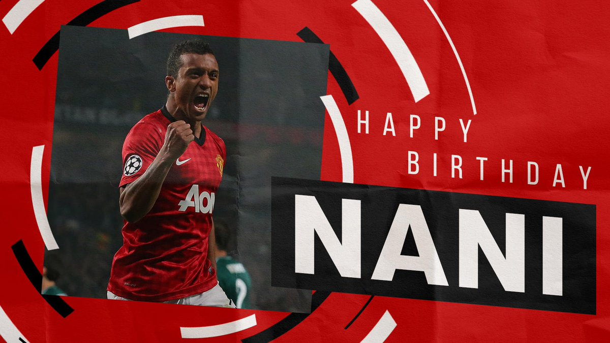 Leave your birthday wishes for @LuisNani in the comments! 😎🎂