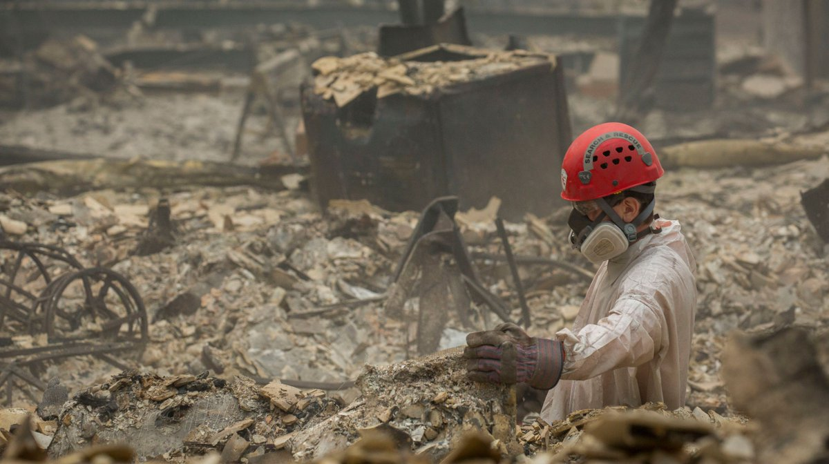Eight more bodies bring California wildfire death toll to 71, with 1,000+ people missing dlvr.it/QrSVmB
