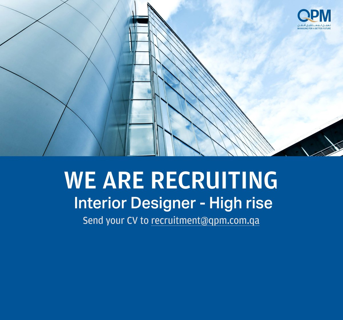 Qpm A Twitter We Are Recruiting Interior Designer High Rise High Rise Exp Ff E Experience On Large Towers Hotels Over 12 5 Years Are High Rised