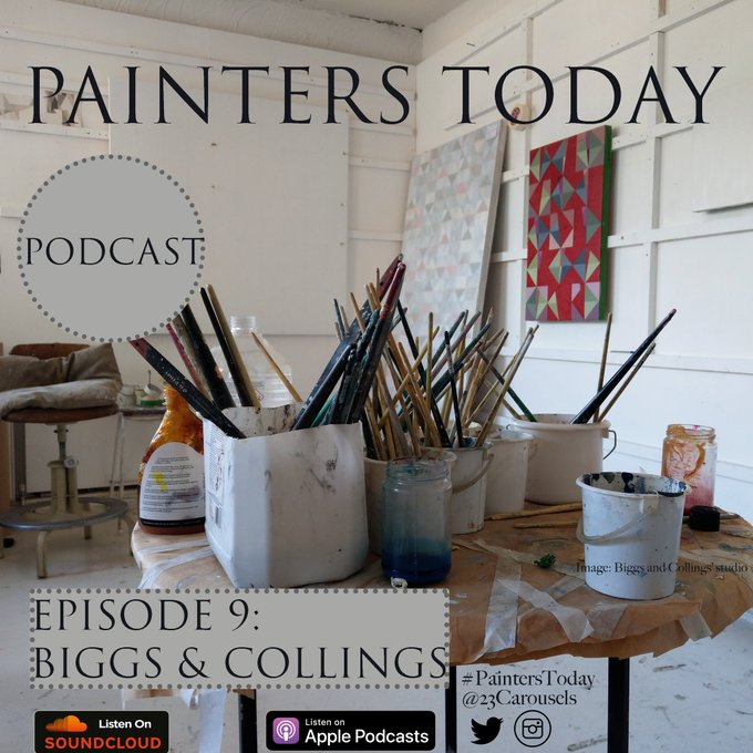 Brighten your #SaturdayMorning with the latest #PaintersToday podcast featuring @EmmaBiggs6 & @m_collings ▶SoundCloud ▶iTunes | ☀ Photo