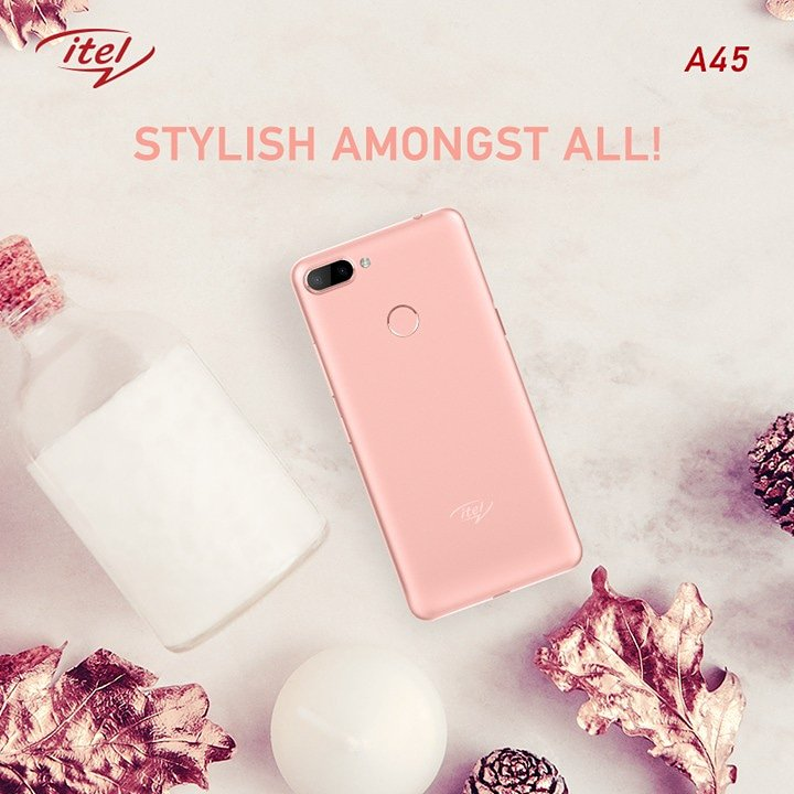 Replying to @itelMobileIndia: It's classy, it's chic! Make a statement with itel A45's new 'rose gold' color in just Rs. 5999