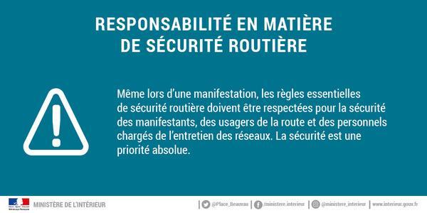 8feaf2d6967  17Novembre   Nous renouvelons notre appel au respect absolu des règles de  sécurité routière et à la plus grande vigilance aux abords des ...