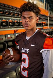 Congrats to Anthony Watkins on his selection to the All NE Inland District 1st Team as Defense as a Defensive Back