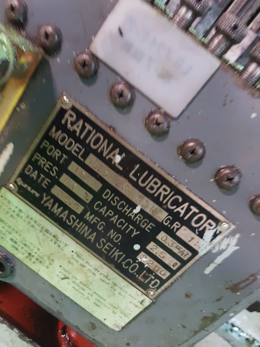I'm on a ship. Thank God they have a rational lubricator, as opposed to the normal irrational one.